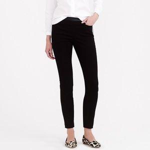 J Crew Dannie Leather Trim Pants size 6